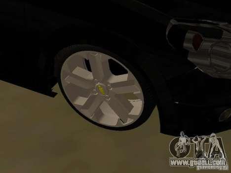 Chevrolet Vectra Elite 2.0 for GTA San Andreas inner view