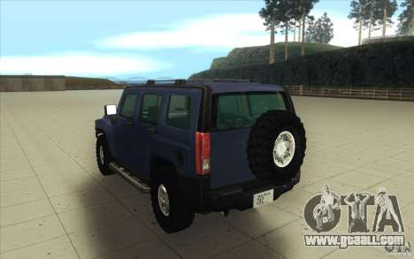 Hummer H3 for GTA San Andreas side view