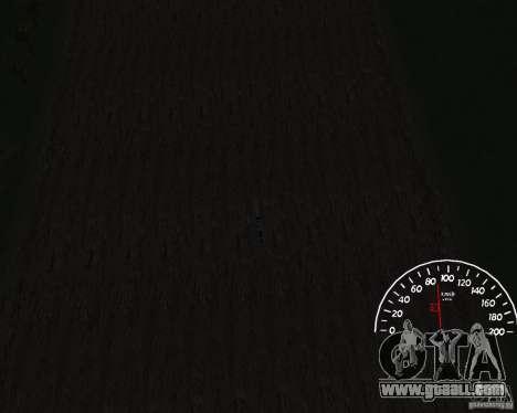 Speedometer 1.0 for GTA San Andreas third screenshot