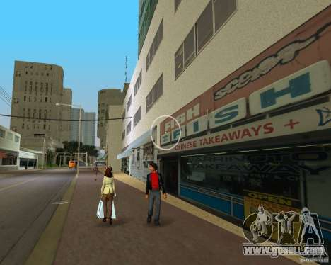 New Downtown: Shops and Buildings for GTA Vice City forth screenshot