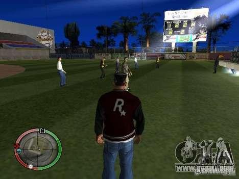 Concert of the AK-47 v2 for GTA San Andreas third screenshot