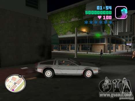 Delorean DMC-12 for GTA Vice City
