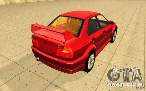 Mitsubishi Lancer Evo 6 for GTA San Andreas side view