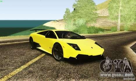 Lamborghini Murcielago LP 670-4 SV for GTA San Andreas