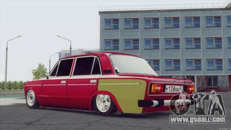 VAZ 2106 Hobo for GTA San Andreas left view