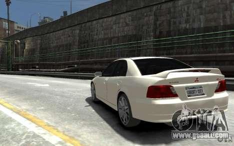 Mitsubishi Galant 8 VR-4 for GTA 4 back left view
