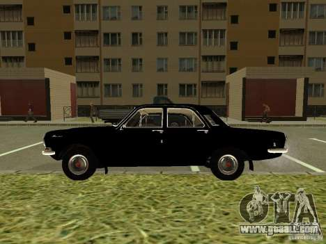 GAZ-24 Volga 01 for GTA San Andreas