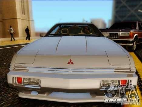 Mitsubishi Starion ESI-R 1986 for GTA San Andreas back left view