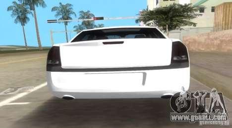 Chrysler 300C SRT V10 TT Black Revel 2011 for GTA Vice City back left view