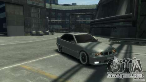BMW 318i Light Tuning for GTA 4 back left view