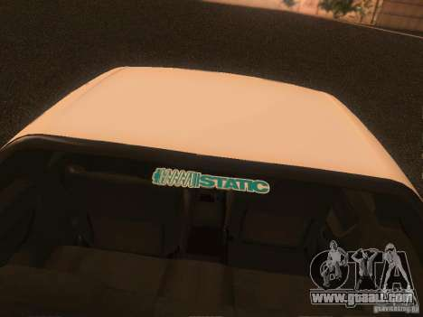 Nissan Skyline GTS R32 JDM for GTA San Andreas inner view