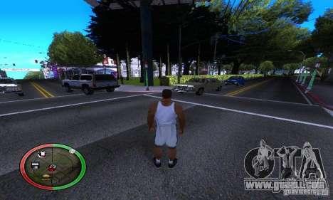 NEW STREET SF MOD for GTA San Andreas forth screenshot