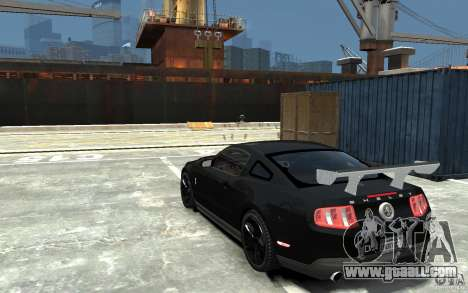 Ford Shelby GT500 v.1.0 for GTA 4 back left view