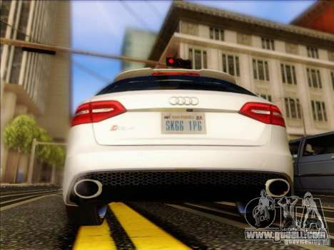 Audi RS4 Avant B8 2013 for GTA San Andreas right view