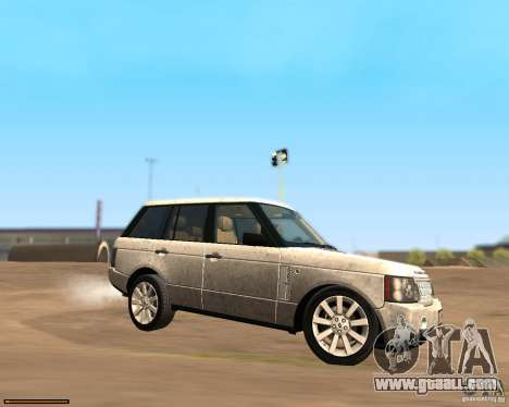 Land Rover Range Rover Supercharged 2008 for GTA San Andreas left view