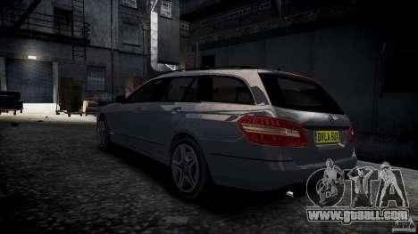 Mercedes E-Class wagon for GTA 4 left view