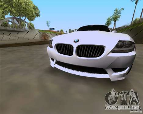 BMW Z4 M Coupe for GTA San Andreas right view