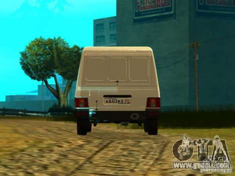 IZH 2717 for GTA San Andreas back left view