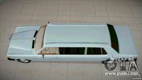 Rolls-Royce Silver Spirit 1990 Limo for GTA San Andreas right view