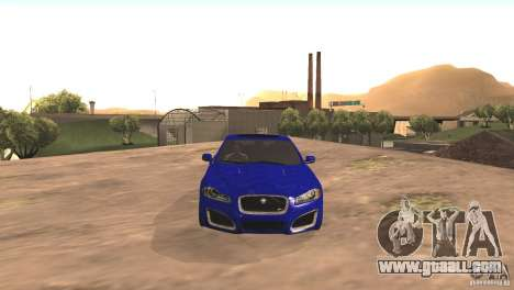 Jaguar XFR 2012 V1.0 for GTA San Andreas