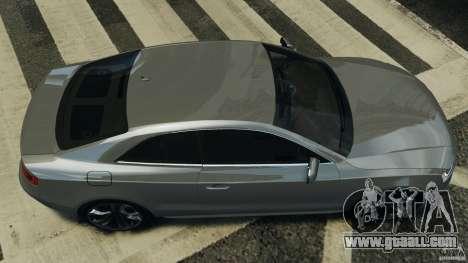 Audi S5 v1.0 for GTA 4 right view