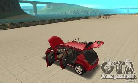 Nissan Murano 2004 for GTA San Andreas inner view