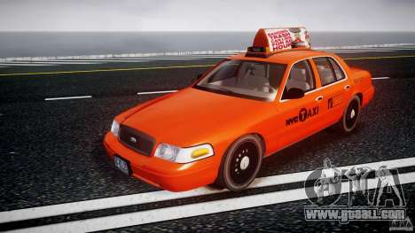 Ford Crown Victoria 2003 v.2 Taxi for GTA 4