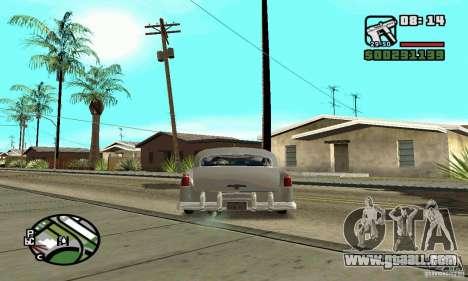 Houstan Wasp (Mafia 2) for GTA San Andreas back left view