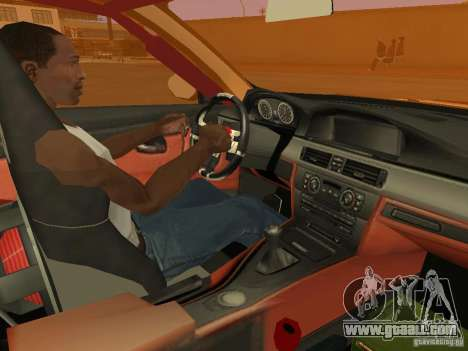 BMW M3 E92 DriftRoots for GTA San Andreas back view