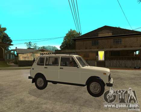 Vaz 2131 Niva for GTA San Andreas right view