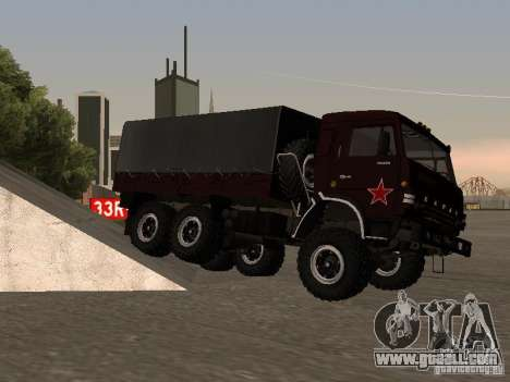 KAMAZ 4310 parade for GTA San Andreas