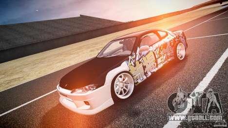 Nissan Silvia S15 Drift v1.1 for GTA 4