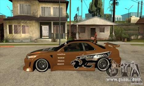 Nissan Skyline GTR - EMzone B-day Car for GTA San Andreas left view