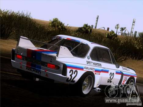 BMW CSL GR4 for GTA San Andreas left view