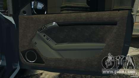 Audi S5 v1.0 for GTA 4 upper view
