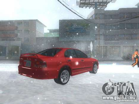 Mitsubishi Galant VR6 for GTA San Andreas right view