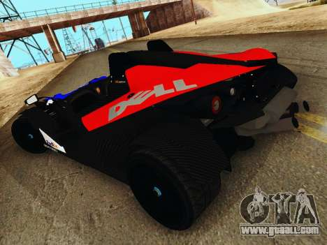KTM X-Bow 2013 for GTA San Andreas left view