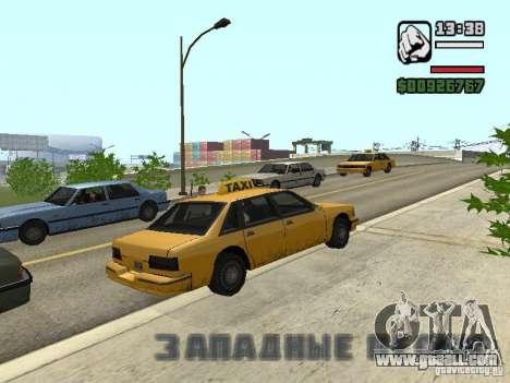 Real time for GTA San Andreas third screenshot