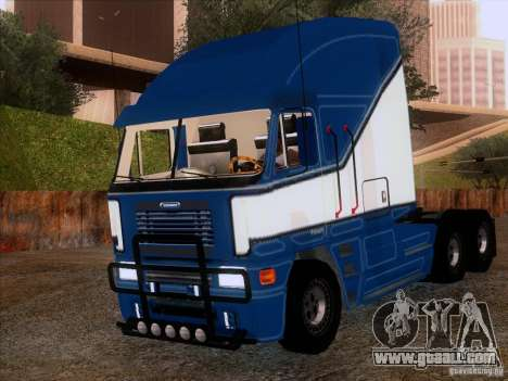 Freightliner Argosy Skin 1 for GTA San Andreas left view
