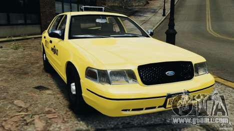 Ford Crown Victoria NYC Taxi 2004 for GTA 4