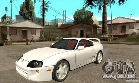 Toyota Supra NFSMW Tunable for GTA San Andreas