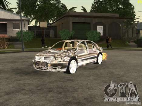 Volkswagen Phaeton chrome plated for GTA San Andreas