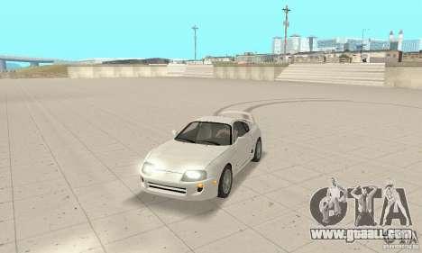 Toyota Supra 1998 stock for GTA San Andreas