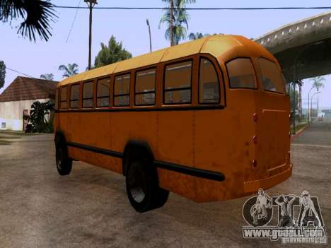 LIAZ 158 for GTA San Andreas back left view