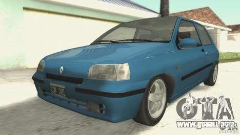 Renault Clio RL 1996 for GTA San Andreas