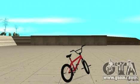 Powermatic BMX 2006 for GTA San Andreas back left view