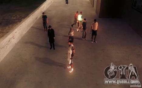 Sombras mais fortes em pedestres for GTA San Andreas seventh screenshot
