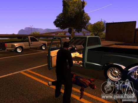 Pancor Jackhammer for GTA San Andreas fifth screenshot