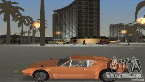 De Tomaso Pantera for GTA Vice City inner view