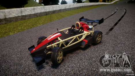 Ariel Atom 3 V8 2012 Custom Mugen for GTA 4 inner view